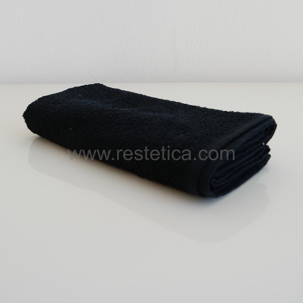 Asciugamano ideale per Taglio e Colore capelli nero con trattamento IDH* misura 50x100cm - Made in Italy