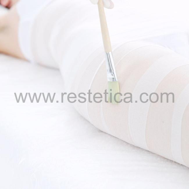 Bende monouso Trattamento Riducente Neutro che favorisce la riduzione di adiposità e riduce i gonfiori locali - confezione 2 bende da 10cm x 9 metri