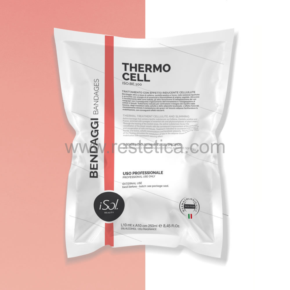 Confezione bende iSol. monouso imbibite Therm Solution Gel