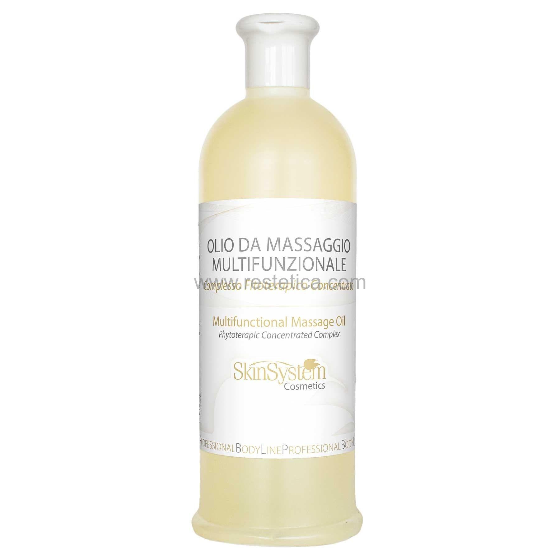 Olio da massaggio Multifunzionale SkinSystem 0040020064 -  Flacone 500ml