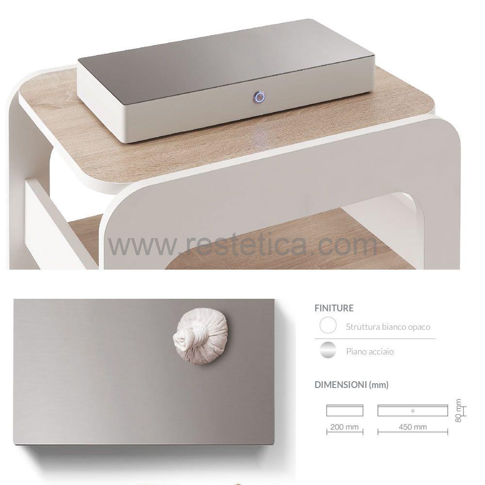 Piastra riscaldante ideale per scaldare oli e fanghi con piano in alluminio e display per regolazione temperatura digitale