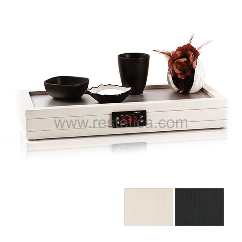Piastra riscaldante multiuso ideale per scaldare oli e fanghi con piano in alluminio e display per regolazione temperatura digitale