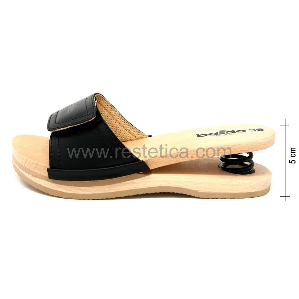 Baldo Clogs with Velcro - Black
