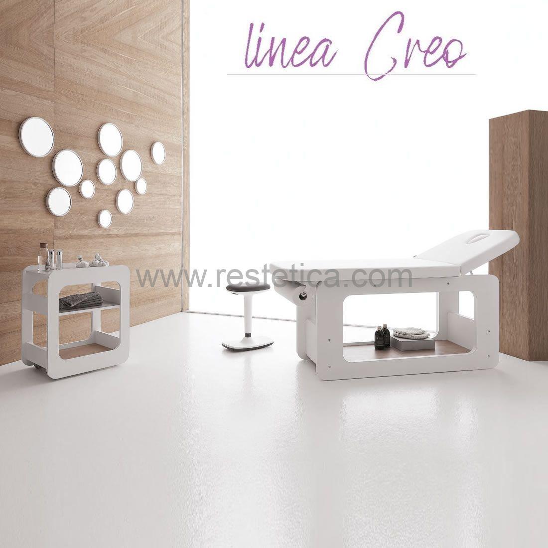 Cabina completa per trattamenti estetici Linea CREO by Vismara