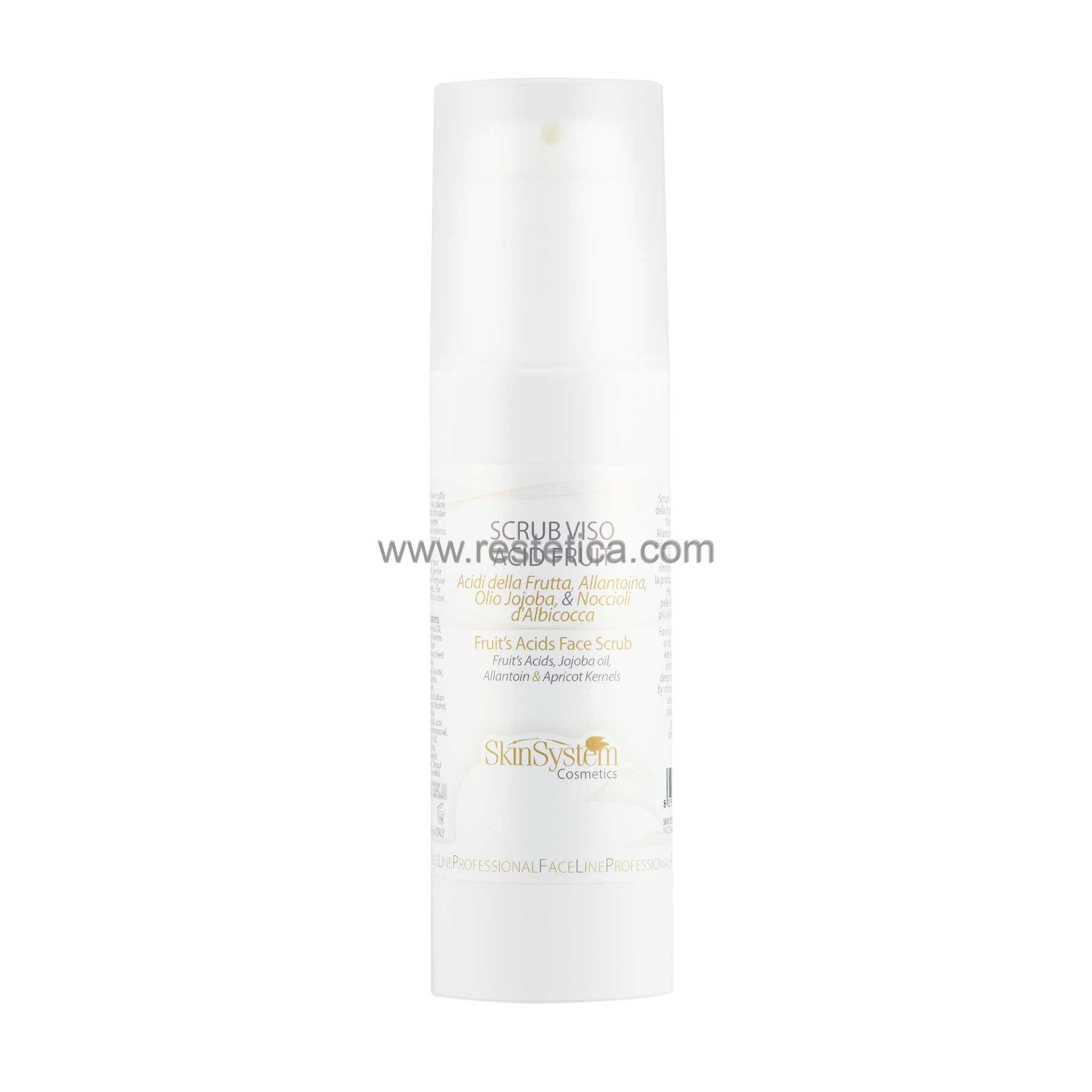 Peeling viso a base di Acidi della frutta SkinSystem 1030020059 - Flacone 150ml