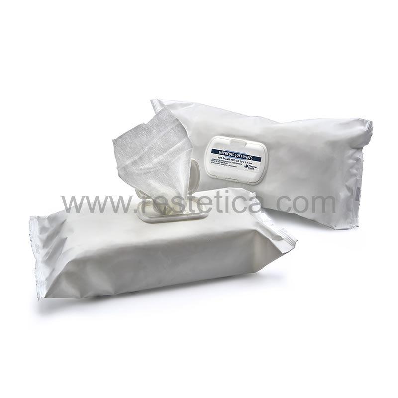 Salviette disinfettanti e detergenti Pharmatrade ideali per dispositivi e apparecchiature - 100 salviette da 20x21cm
