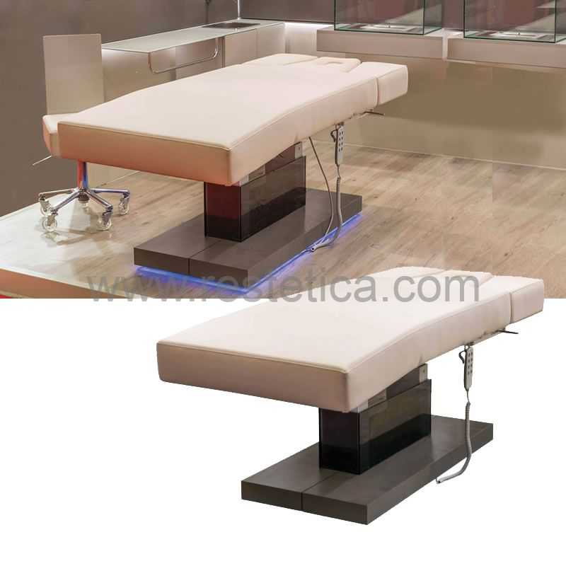 Multifunction bed Sensus by Nilo with 4 motors for face, body and massage treatments Cod. N9032