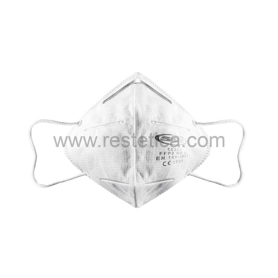 Respiratori filtrante facciale FFP2 CE - confezione da 5 mascherine