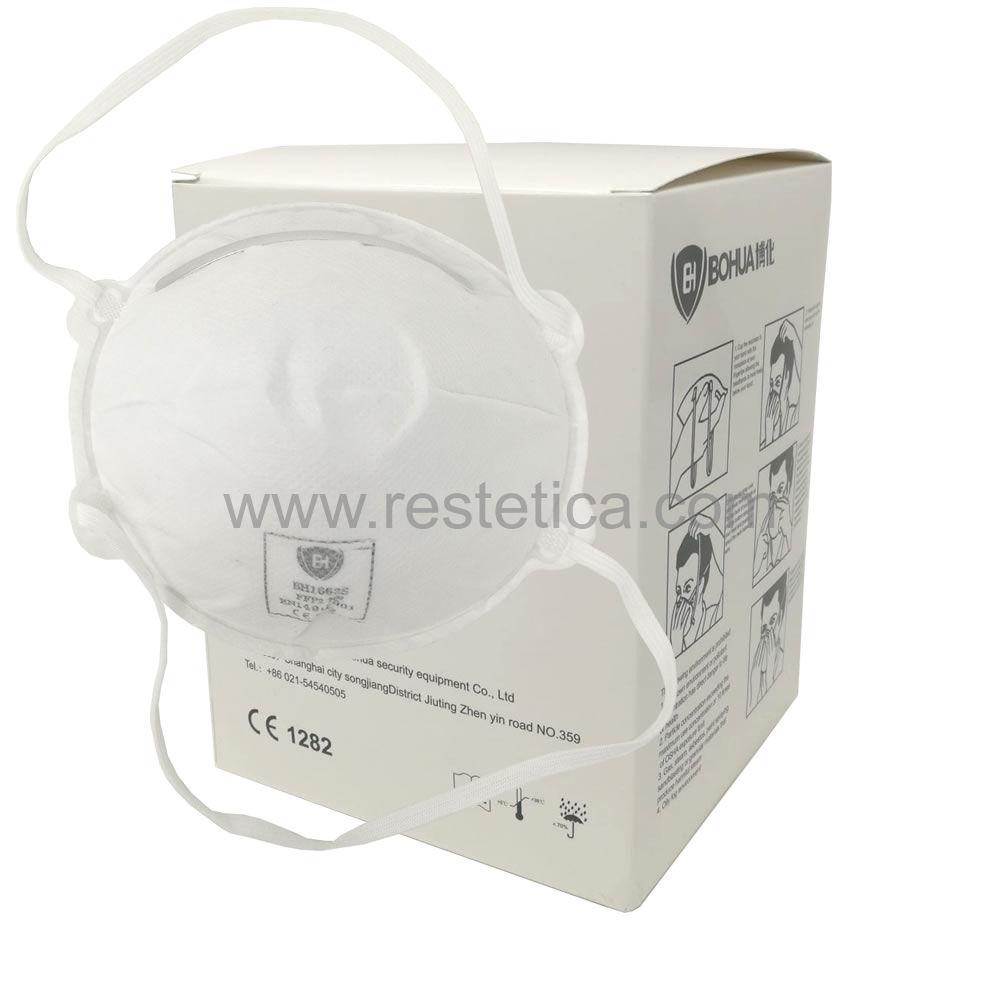 Respiratori filtrante facciale tipo FFP2 - confezione box 20 mascherine