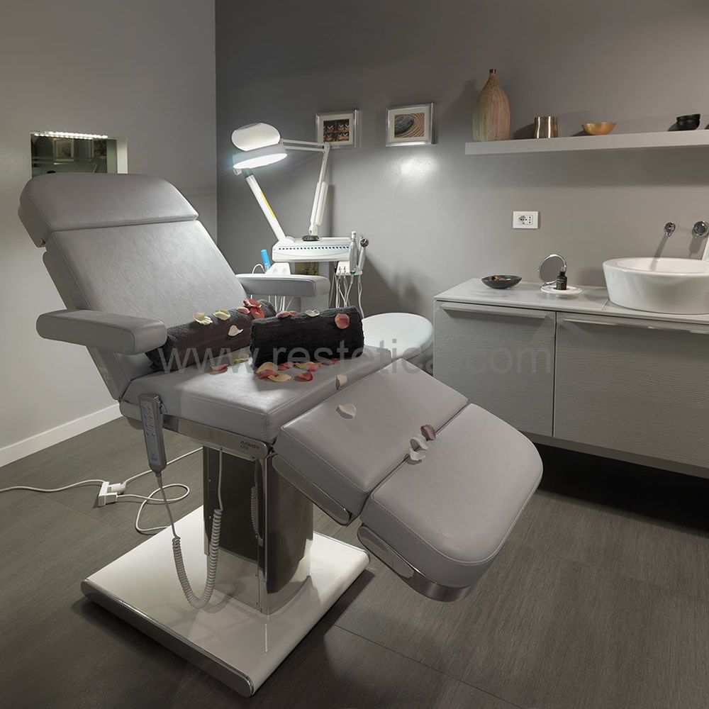 Multifunctional chair Glamour by Nilo for face, body treatments and make-up Cod.N9414