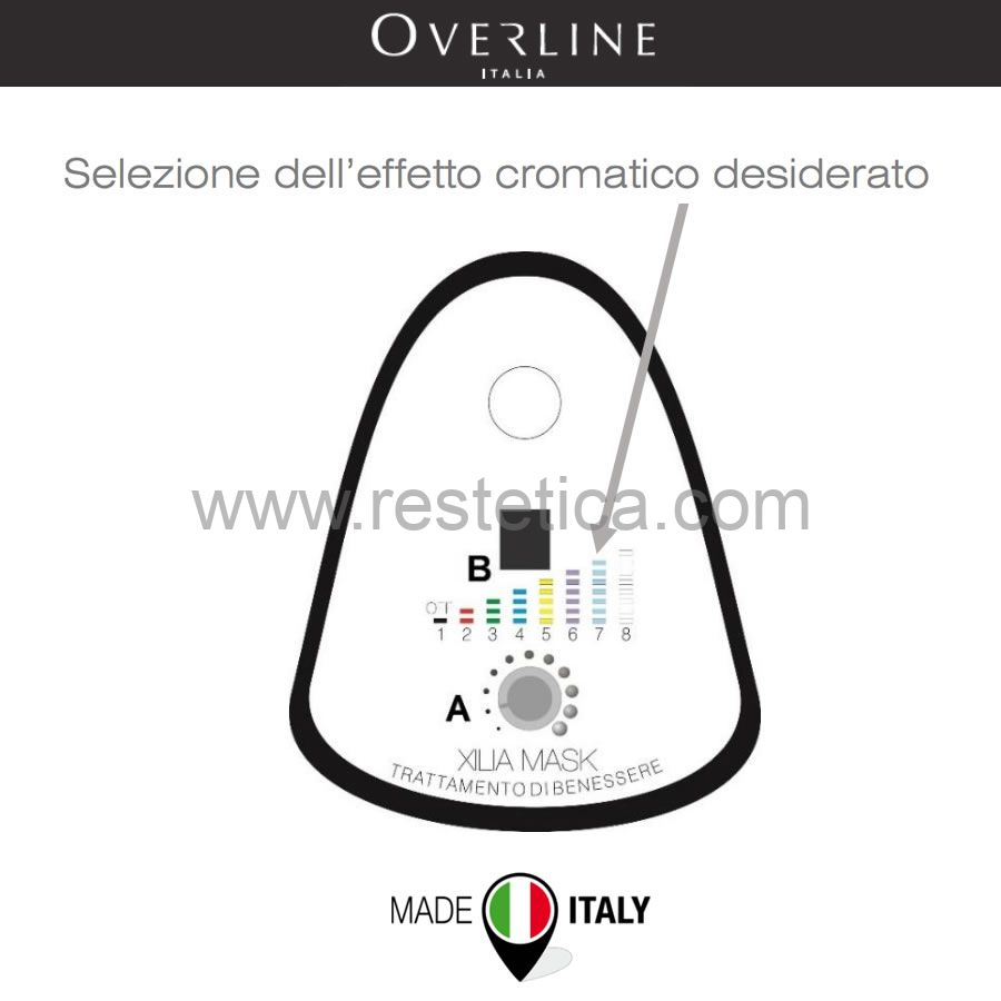 Light Mask Color by Overline Italia