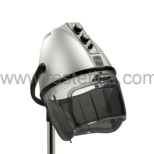 Casco asciugacapelli professionale con alte prestazioni di lavoro e sicurezza