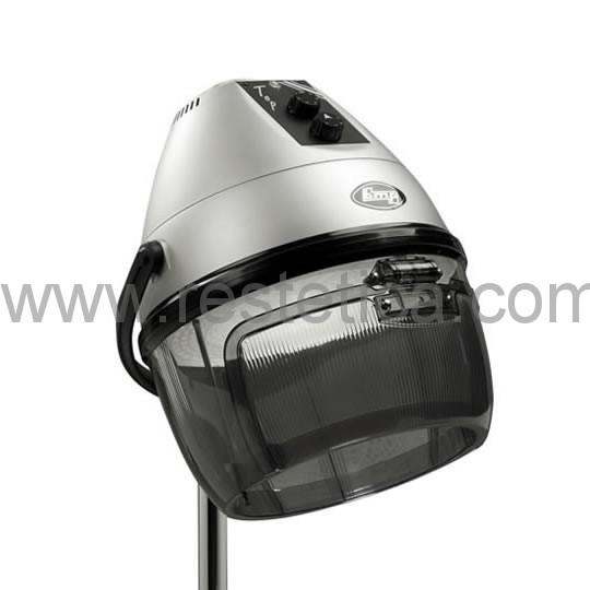 Casco asciugacapelli professionale dotato di sistema di ventilazione diretta