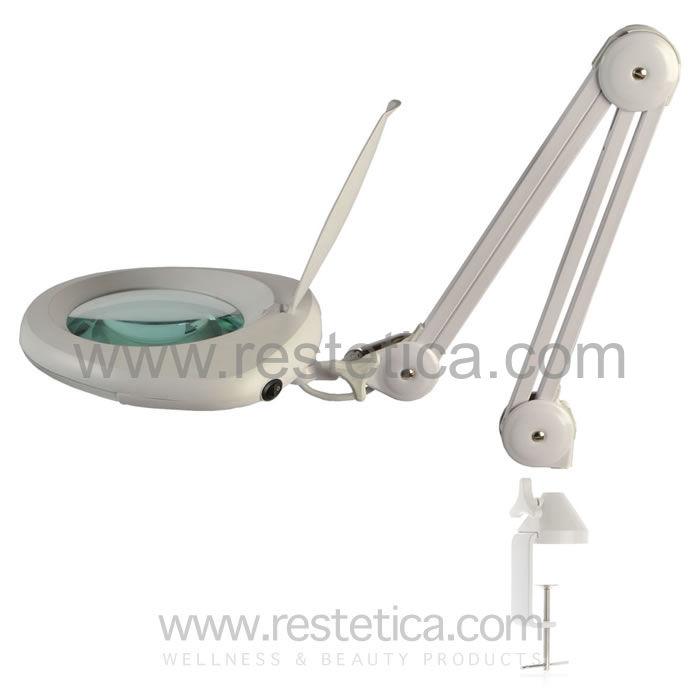 Lente di ingrandimento professionale a 3 diottrie dotata - Specchio con lente di ingrandimento ...