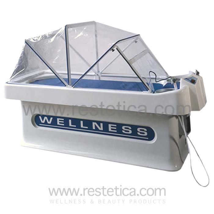 Lettino termale polifunzionale per bagno di sale vapore fieno ...