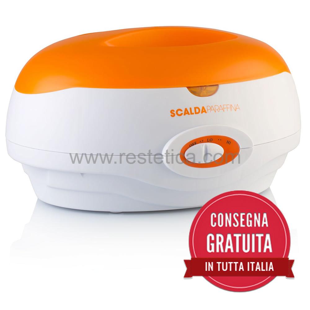 Fornello scaldaparaffina per trattamenti mani/piedi con serbatoio da 2kg di paraffina temperatura 55-65°C