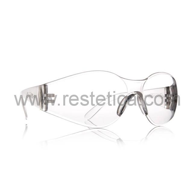 Occhiali di protezione in pvc per eseguire trattamenti