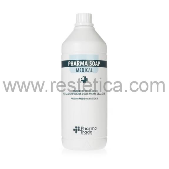 Pharma Soap Medical antisettico liquido per la disinfezione delle mani e della cute - 1 litro