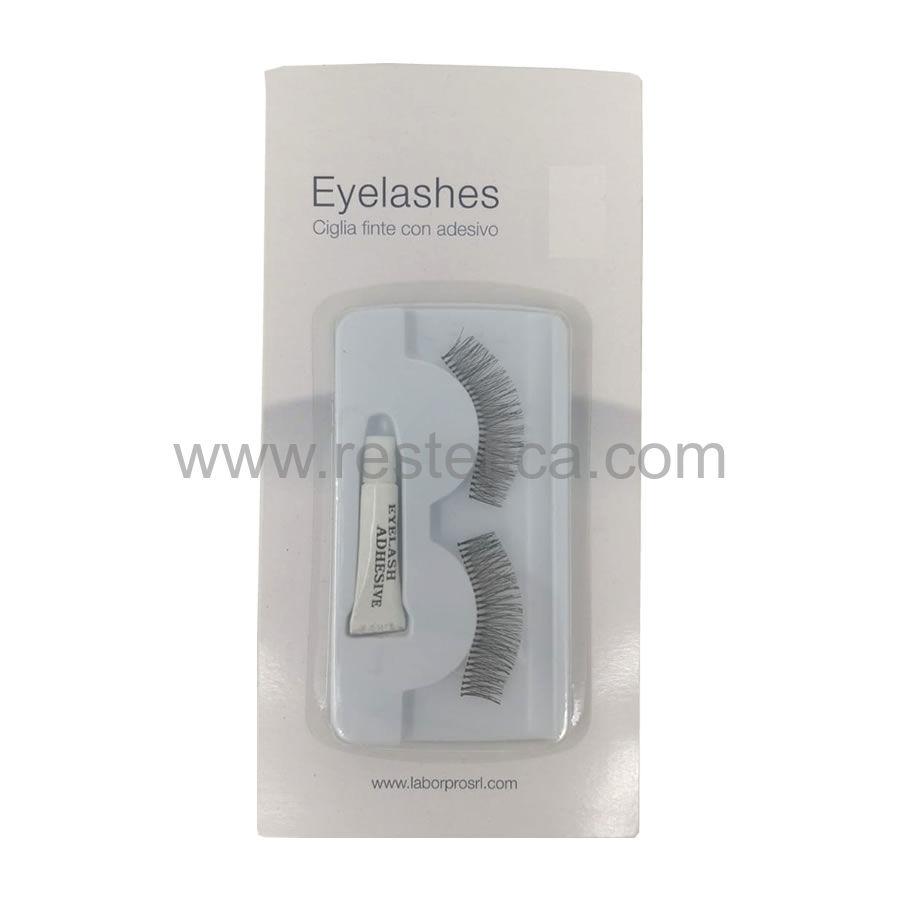 Eyelashes ciglia finte con colla in dotazione