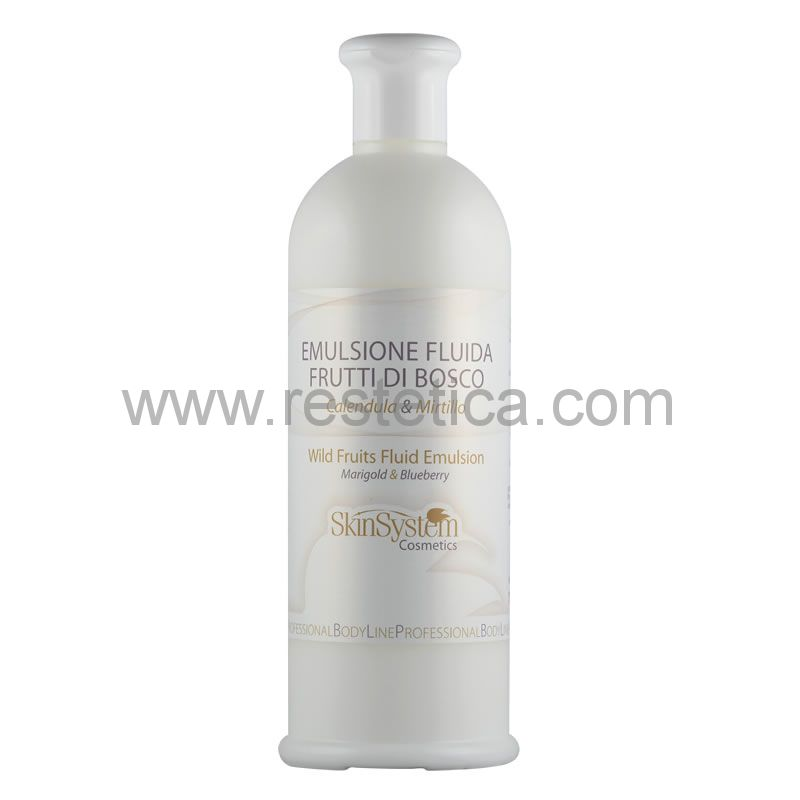 Emulsione fluida Frutti di Bosco Calendula - Mirtillo SkinSystem 1010020021 - Flacone 500ml