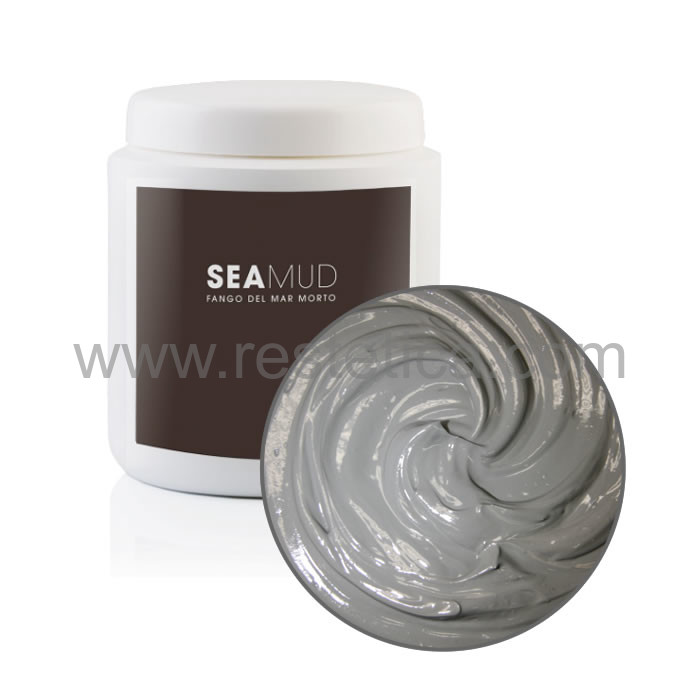 Fango termale del Mar Morto per trattamenti viso e corpo. Barattolo da 1 kg