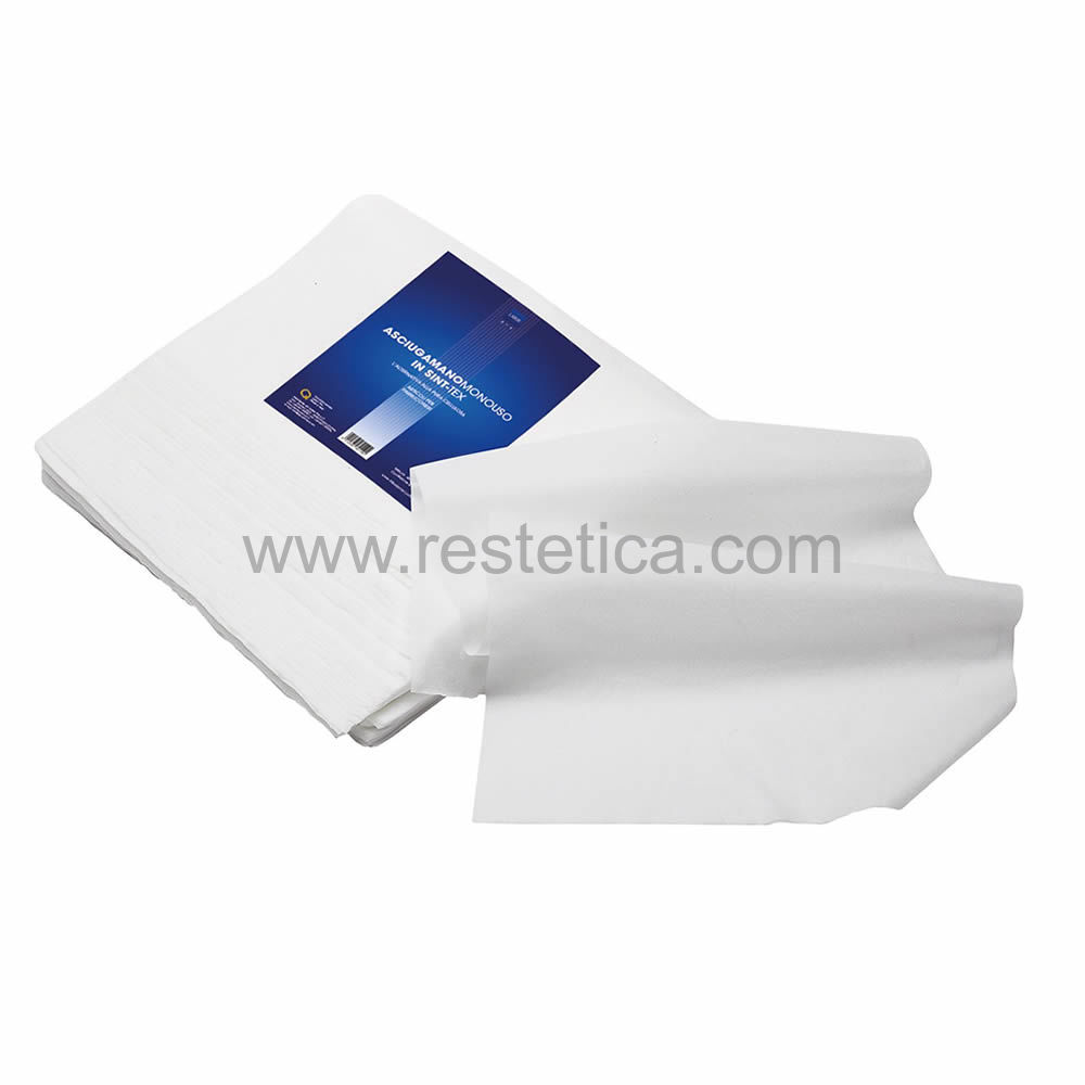 Panno asciugamano carta sintex 40x75cm - Conf. 80 pz