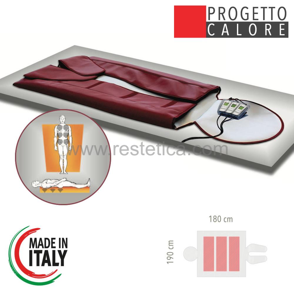 Coperta Termica Per Lettino Da Massaggio.Silme Thermomassage 900tc Elettrosauna 2 In 1 Ideale Per