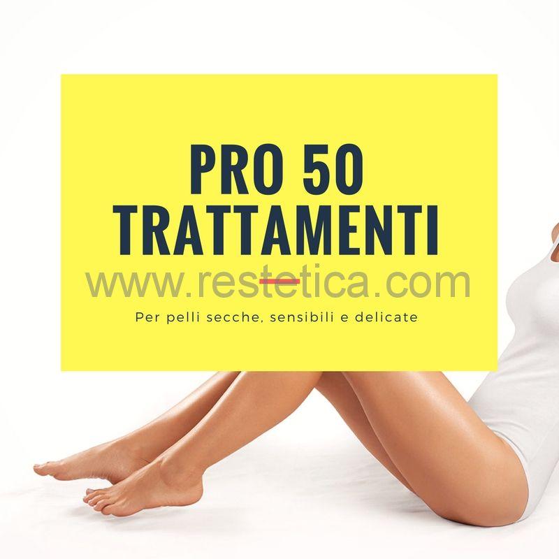 Kit epilazione PRO 50 trattamenti per pelli secche, sensibili e delicate